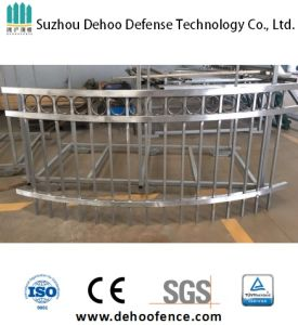 Simple Operation of Non Powder Coated Galvanized Steel Balcony Fence pictures & photos