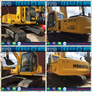 Used Komatsu Excavator PC220-6 with Excellet Condition pictures & photos