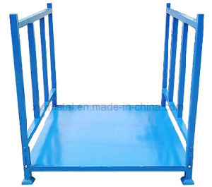 Foldable Stillage Steel Warehouse Stacking Tire Storage Folding Shelving pictures & photos