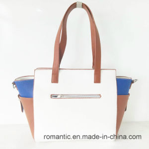 Stylish Leisure Fancy Women PU Leather Handbags (NMDK-060101) pictures & photos