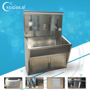 Medical Stainless Steel Washing Sink for Double Person pictures & photos