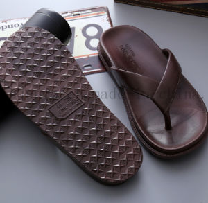 OEM Logo Fashion Soft EVA Man Slippers Flip Flop pictures & photos