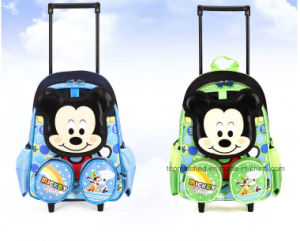 New Arrival School Trolley Bag Cartoon School Bag Hellokitty Trolley Bag pictures & photos