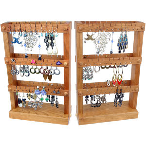 Ring Holder Jewelry Organizer Wood Wall Hanging Jewelry Display pictures & photos