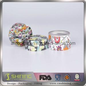 Aluminum Cosmetic Jar for Packaging