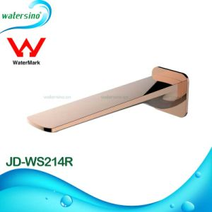 Rose Gold Plated Spout Basin Water Outlet Tap pictures & photos