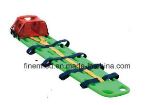 Plastic Spine Board with Head Immobilizer pictures & photos