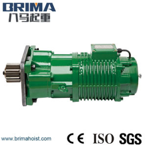 2.2kw High Quality Electric Crane Geared Motor with Buffer (BM-300) pictures & photos