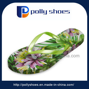 High Quality Europe Various Printed Stock Flip Flop pictures & photos