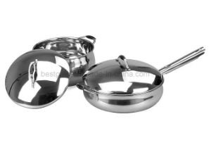 Stainless Steel Kitchenware 4PCS Cookware Set pictures & photos