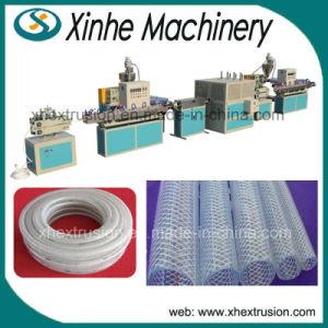 12-50mm PVC Pipe Fiber Reinforced Pipe Extrusion Line Garden Hose Production Line/Plastic Extruder pictures & photos
