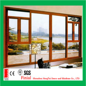 Ultra Large American Style Single Hung/Double Hung Glazed Window for North America pictures & photos