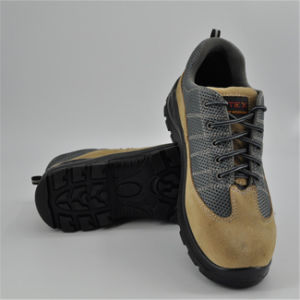 D Suede Leather Safety Shoes to Vietnam Ufa102 pictures & photos