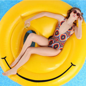 Inflatable Smiling Face Pool Island Lounge Wholesale pictures & photos