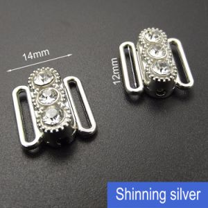 12mm Rhinestone Bra Metal Connectors pictures & photos