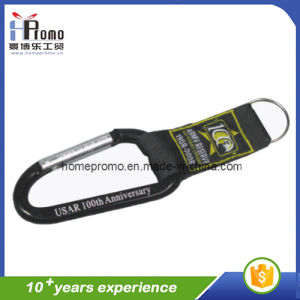 Black Lanyard with Aluminium Carabiner