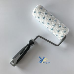 "Fy 7"" Microfiber Top Quality Blue DOT Paint Roller pictures & photos"