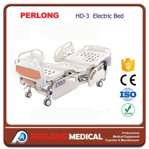 Hospital Furniture HD-3 Three-Function Electric Bed pictures & photos