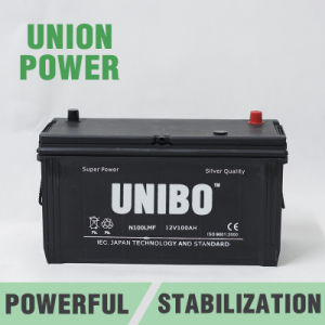 Truck Battery High Performance Maintenance Free N100L 12V100ah Car Battery pictures & photos