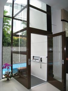 Home Lift with Gearless Vvvf Traction Motor Elevator pictures & photos