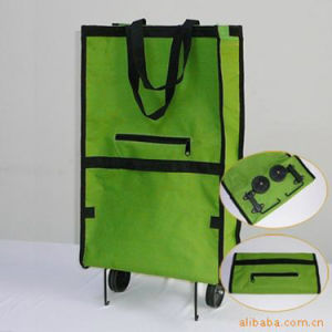 Outdoo Collapsible Foldable Rolling Luggage Cart with PP Wheels pictures & photos