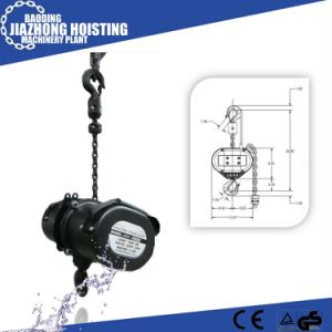 China Manufacturer Competive Price 1.5ton Stage Chain Hoist pictures & photos