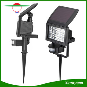 Solar Powered Flood Light Outdoor Ground Light Motion Sensor Garden Landscape Lightings Products pictures & photos