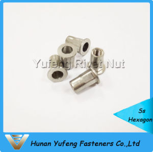 Stainless Steel Pan Head Half Hexagon Rivet Nut pictures & photos