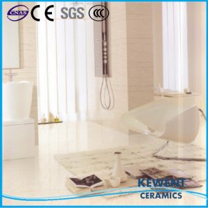 Promotion Natural Stone Series White Doule Loading Polished Porcelain Tile pictures & photos