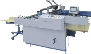 Automatic Laminating Machine for Corrugated Cardboard (SAFM-800) pictures & photos