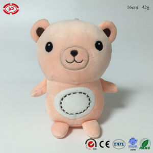 Plush Bear Soft Stuffed Foam Beads Keychain Toy with Sucker pictures & photos