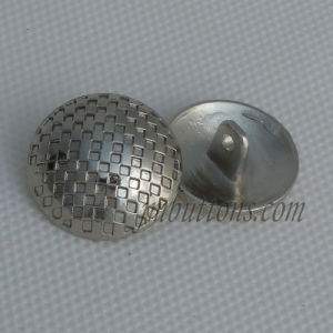 Fashion Silver Shank Polishing Coat Sew Button pictures & photos