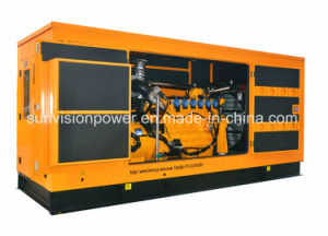 600kVA Chinese Brand Gas Genset with Enclosure pictures & photos