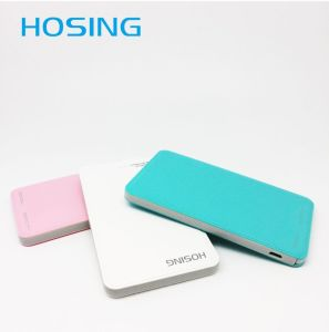 Mini Portable Dual USB Port 5000mAh Power Bank for Smartphone pictures & photos