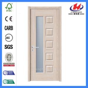 Jhk-010 6 Panel Wood Doors Double Wooden Doors Latest Veneer Door Designs pictures & photos