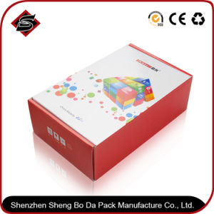 Customized Square Gloss Lamination Gift Paper Storage Box pictures & photos