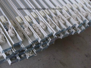 50mm High Profile Headrail Wooden Blinds (SGD-W-516) pictures & photos