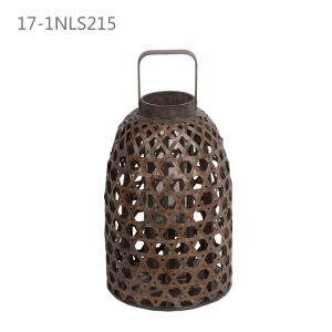 Shabby Antique Ancient Way with Rope of Bamboo Lanterns pictures & photos