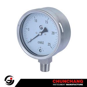 Capsule Pressure Gauge pictures & photos