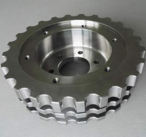 Precision CNC Milling Machined Auto Part with Chrome Plating pictures & photos