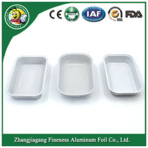 Silver Color Best Selling Aluminum Disposable Fast Food Container pictures & photos