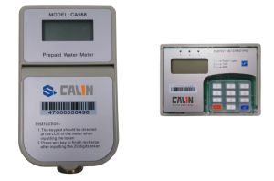 Keypad Prepaid Sts Split Type Water Meter pictures & photos