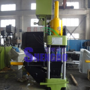 Four Column Aluminum Scrap Briquetting Press Machine with Ce pictures & photos