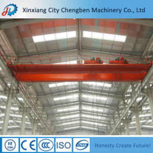 Qd Type Double Girder 30 Ton Overhead Crane with Safe Hook pictures & photos