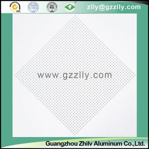 Top One Selling Perforated or Plain Spray Powder Ceiling Plain pictures & photos