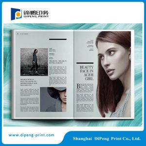 Full Color Digital Magazine Printing Online pictures & photos