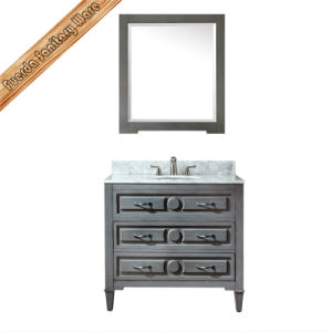 Fed-1998A Solid Wood Bathroom Vanity Bath Cabinet pictures & photos