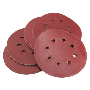 Hook and Loop Sanding Discs 115mm 8 Hole P120 pictures & photos
