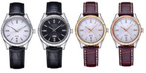 Luxury Mens Stainless Steel Case 316L Custom Own Brand Watch pictures & photos
