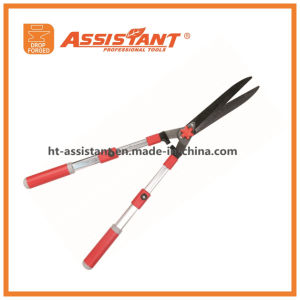 Hedge Shears with Undulated Blade and Anodized Aluminum Telescopic Handles pictures & photos